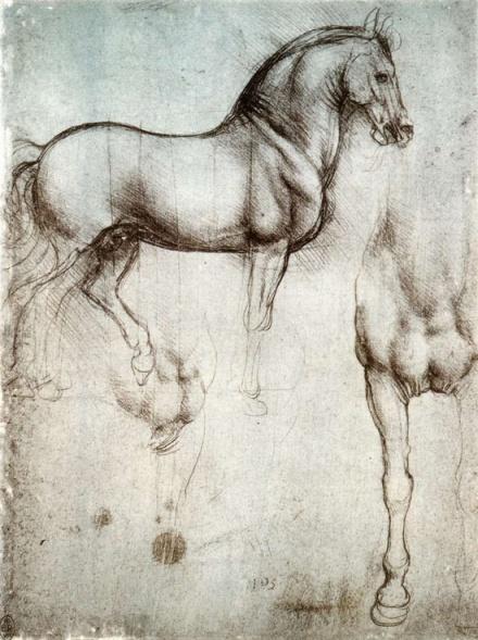 Study of Horses...by Leonardo da Vinci