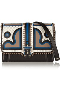 Paula Cademartori appliqued leather shoulder bag
