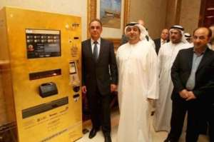 ATMs that give out gold