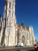 Matyas church in Buda
